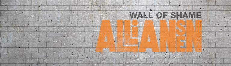 Alliansregeringen har sedan de kom till makten kraftigt försämrat villkoren i arbetslivet. Här presenterar vi Alliansens Wall Of Shame med 38 allvarliga försämringar.