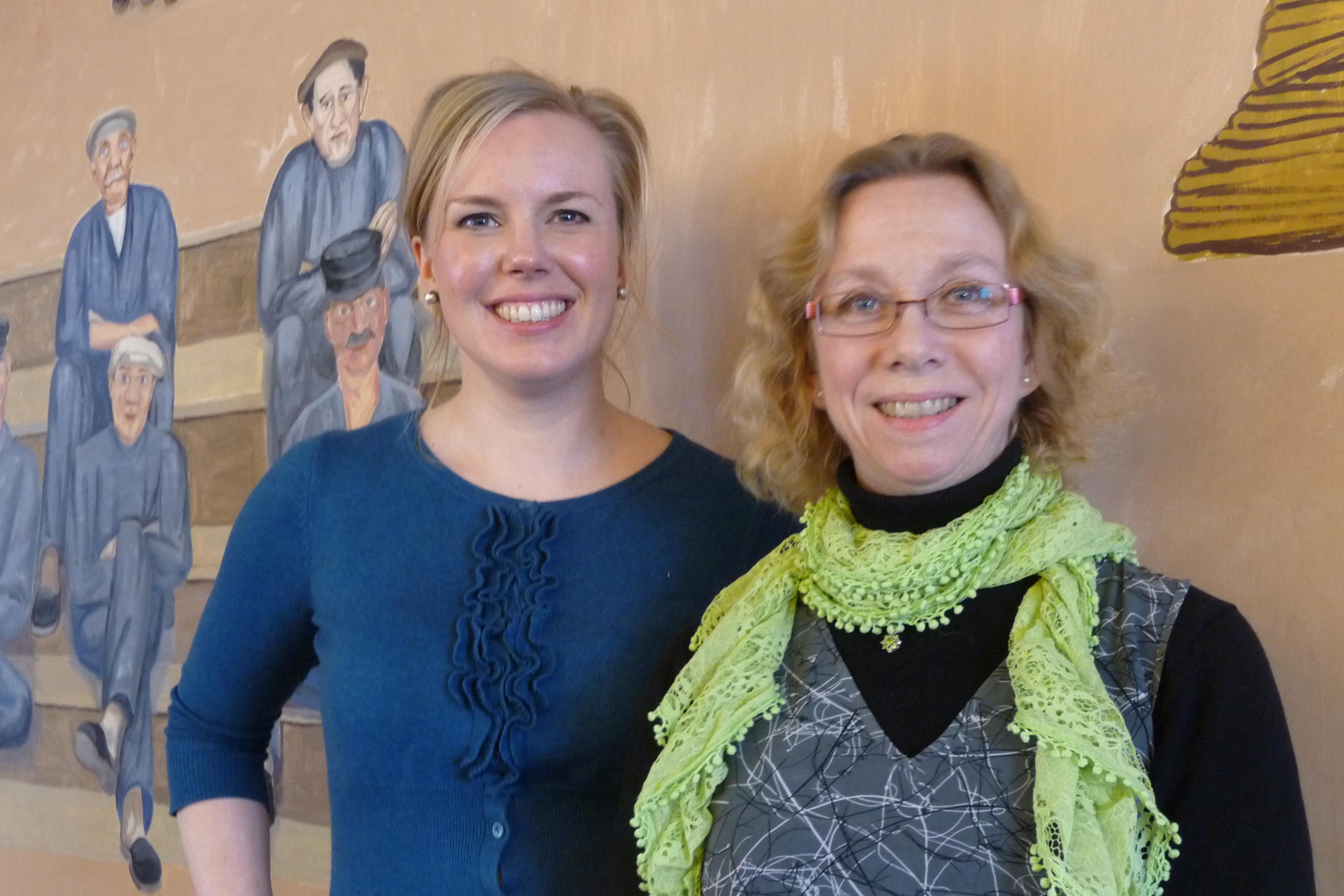 Linda Snecker, Inga Jonasson